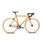 《BIKEONE》V4 PLUS 26吋單速車 英式時尚經典款-彎把(橘)