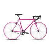 《BIKEONE》V4 PLUS 26吋單速車 英式時尚經典款-彎把(粉紅)