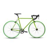 《BIKEONE》V4 PLUS 26吋單速車 英式時尚經典款-彎把(綠)