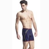 《【SAIN SOU】》競賽/泳隊/專業用七分泳褲加贈矽膠泳帽A57408-02(L)