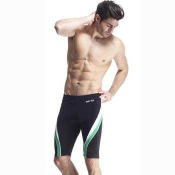 【SAIN SOU】 大男及膝泳褲加贈泳帽A55411(L)