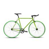 《BIKEONE》V4 EVO 26吋單速車 英式時尚經典款-牛角把(綠)
