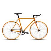 《BIKEONE》V4 EVO 26吋單速車 英式時尚經典款-牛角把(橘)