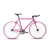 《BIKEONE》V4 EVO 26吋單速車 英式時尚經典款-牛角把(粉紅)