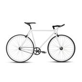 《BIKEONE》V4 EVO 26吋單速車 英式時尚經典款-牛角把(白)