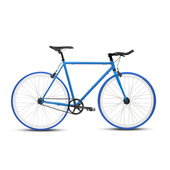 《BIKEONE》V4 EVO 26吋單速車 英式時尚經典款-牛角把(藍)