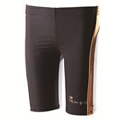 《【SAIN SOU】》大男TOP潑水特殊材質及膝泳褲加贈泳帽A55108(L)