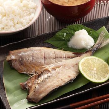 上野物產 竹筴魚一夜干-4隻免運費(155g±10%/隻)