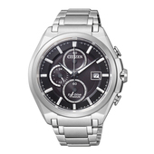 《CITIZEN》Eco-Drive 【鈦】新概念光動能腕錶CA0351-59E-黑/43mm