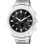 《CITIZEN》ECO-Drive GENT'S時尚男錶-CA0021-53E(銀)