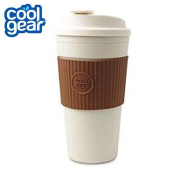 COOL GEAR 馬卡龍色隨行杯 445cc #1132 (共四色可挑選 海洋藍/青草綠/蜜桃紅/摩卡棕)(#1132-摩卡棕)