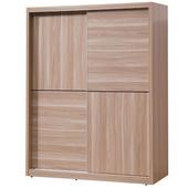 《時尚屋》順益原木色5x7尺衣櫥