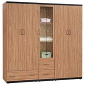 黑沐7.5尺衣櫃