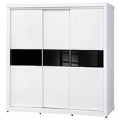 《時尚屋》米蘭白色7x7尺衣櫥