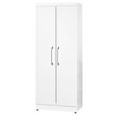 《時尚屋》福特純白2.5x7尺衣櫥