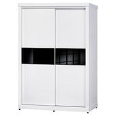 《時尚屋》米蘭白色5x7尺衣櫥