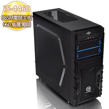 華碩平台 【血花粉碎】i5四核 B85M電競主板 960 2G 超強獨顯 SSD 120G玩樂機