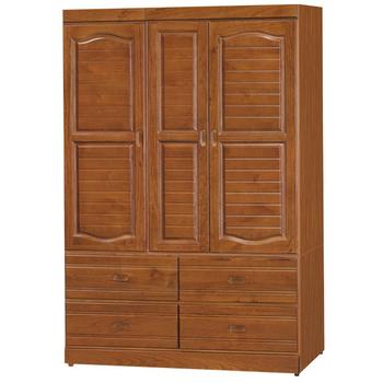 《時尚屋》富丞樟木4x6衣櫥