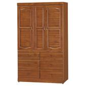 《時尚屋》富丞樟木4x7衣櫥