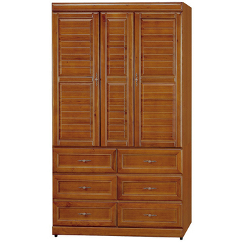 《時尚屋》施勝發正樟木4x7衣櫥