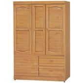 《時尚屋》富丞赤陽色4x6尺衣櫥