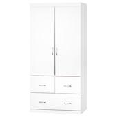 《時尚屋》立雅純白3x6尺衣櫃