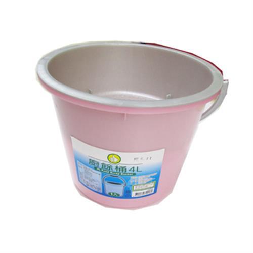 FP 廚餘桶4L 粉紅(4L)