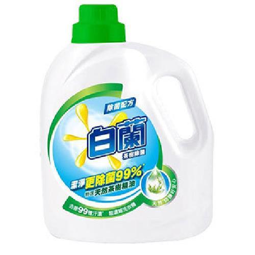 白蘭 茶樹除菌洗衣精(2.7kg/瓶)