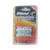 INENO 2700mah電池 2入