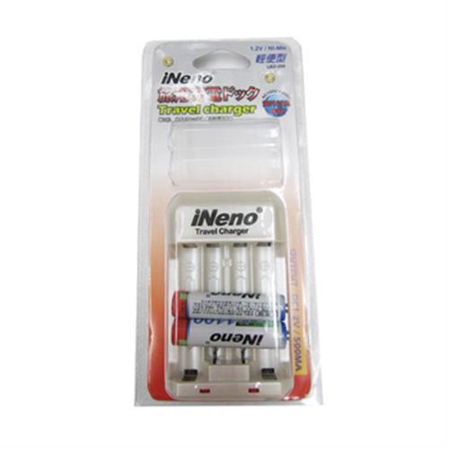 INENO 充電器+INENO AAA 4號2入