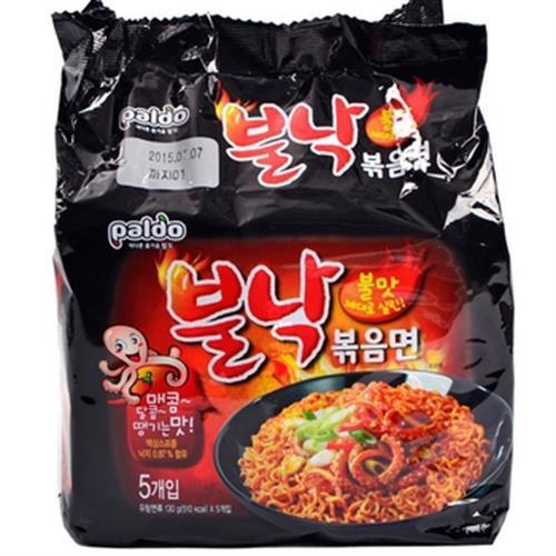 Paldo八道 火辣章魚風味乾拌麵(130克*4包/袋)