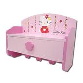 《三麗鷗》HELLO KITTY造型花朵收納盒/掛架
