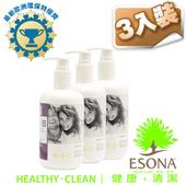 《曜兆ESONA》微泡沫天然環保獎洗髮精350ml - 三入裝