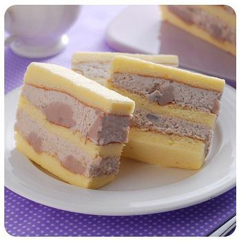 高雄不二家 真芋頭蛋糕(600g/入)