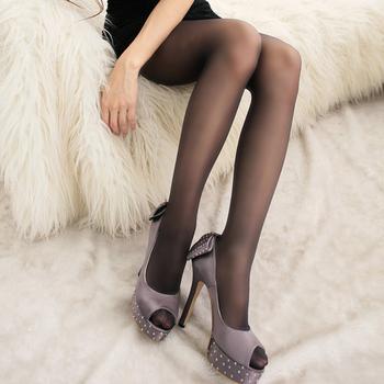 蒂巴蕾 晶柔100%全彈性絲襪縮腹提臀(黑)