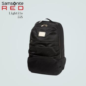 Samsonite RED 【李敏鎬國際廣告款 Lightilo 55S】美女專用款Backpack後背包(質感藍)