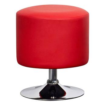 《E-Style》高級精緻PU皮革椅面-工作椅/洽談椅-2入/組(紅色)