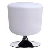 《E-Style》高級精緻PU皮革椅面-工作椅/會客椅-1入/組(白色)
