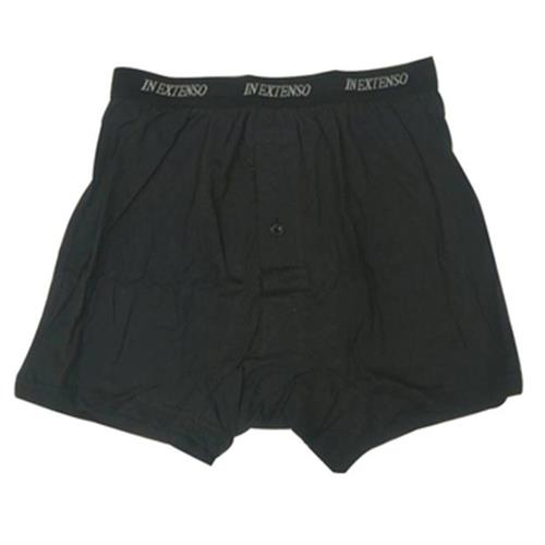 IN EXTENSO 男針織平口褲(黑#L)