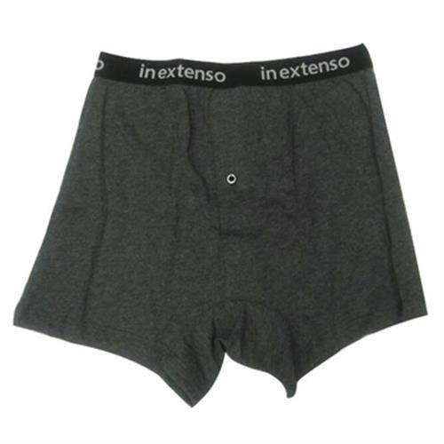 IN EXTENSO 男針織平口褲(麻灰#L)