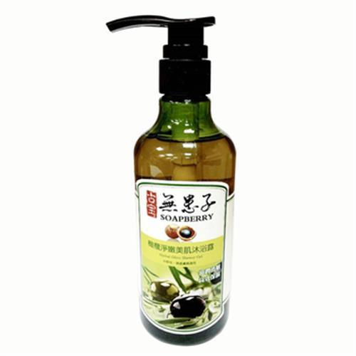 古寶 無患子橄欖淨嫩美肌沐浴露(450g/瓶)