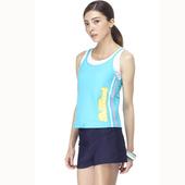 《SAIN SOU》女兩件式泳裝附泳帽A92436(M)