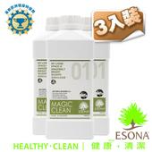 《曜兆ESONA》天然環保獎一號多功能清潔劑1公升-三入裝(SE01T)