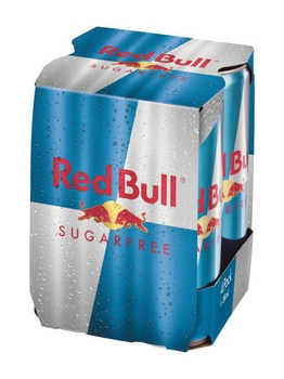 紅牛 無糖能量飲料(250mlx4罐 / 組)
