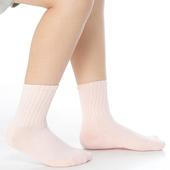 《【KEROPPA】》可諾帕3~6歲學童專用毛巾底止滑短襪(3雙(男女適用)C93001淺粉)