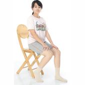 《【KEROPPA】》可諾帕3~6歲學童專用毛巾底止滑短襪(3雙(男女適用)C93001卡其)