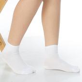 《【KEROPPA】》可諾帕7~12歲學童專用毛巾底止滑短襪(3雙(男女適用)C93001白色)