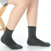 《【KEROPPA】》可諾帕7~12歲學童專用毛巾底止滑短襪(3雙(男女適用)C93001深灰)
