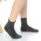 《【KEROPPA】》可諾帕7~12歲學童專用毛巾底氣墊短襪(4雙(男女適用)C93002深灰)