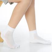 《【KEROPPA】》可諾帕7~12歲學童專用毛巾底氣墊短襪(4雙C93003白色)